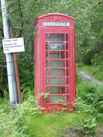 Telephone Box - Achnashellach 150702