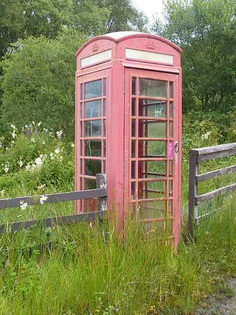 Telephone Box - Achahoish 170802