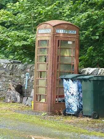 Telephone Box - Glenbarr PO 170728