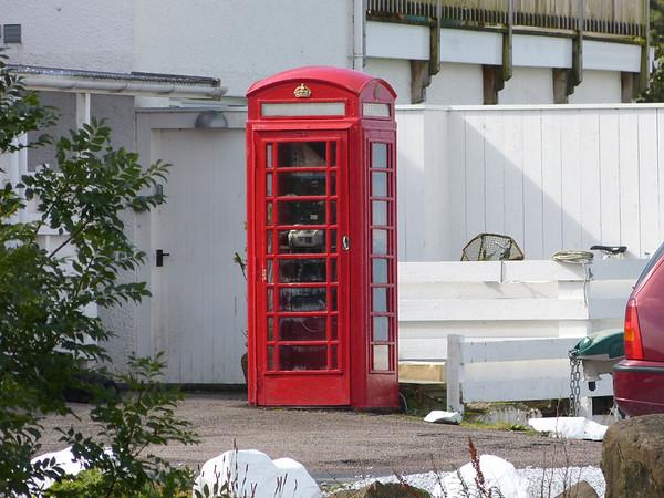 Telephone Box - Back of Keppoch 120902