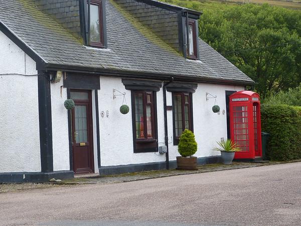 Telephone Box - Clachan 170731