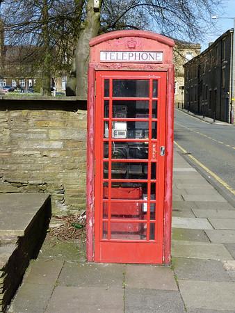 Telephone Box - Accrington, Holme Street 160504