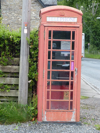 Telephone Box - Weem 170628