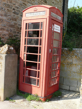 Telephone Box - Abbotsbury 110421