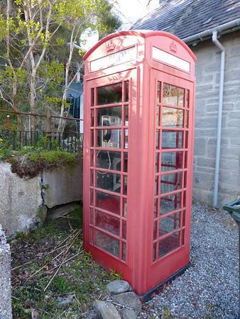 Telephone Box - Aigas 150501