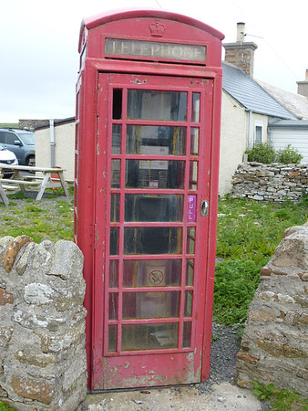 Telephone Box - Birsay 170622