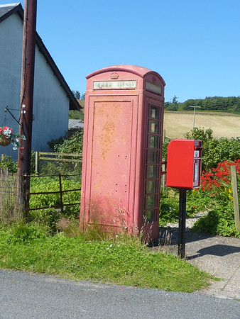 Telephone Box - Skipness PO 170724