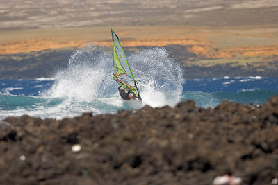 The spot - South Point - Ka`alu`alu Bay...cut back