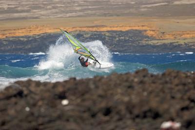 The spot - South Point - Ka`alu`alu Bay ...cut back