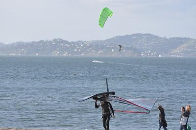 2010-04-11 Crissy Kite and Windsurf