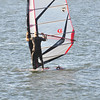 Tack to finish - bottom half of sail
