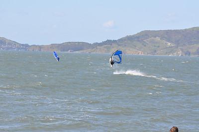 Crissy Field Windsurfing 4-15-09