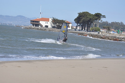 May 13th Crissy Field Windsurfing