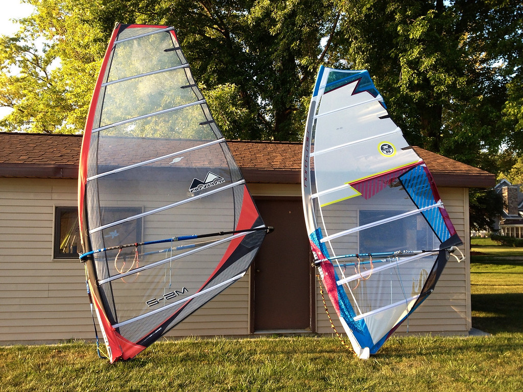 2007 MauiSails MS-2 9.5m  and 2013 North Sails S-Type 8.4m