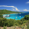 Stunning view from the top of the hill in Mustique
