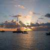 Sunset in Mustique