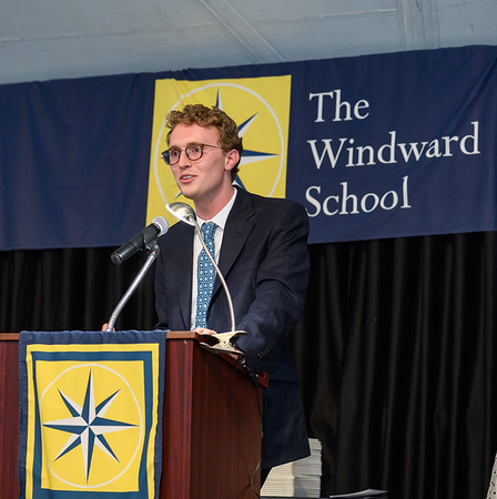 "Axel Getz '14, the alumni speaker at The Windward School's 2018 Graduation & Recognition Ceremony, shares wisdom with graduates including, ""take your time learning how you learn best and turn your learning disability into the thing that makes you stand out amongst your fellow peers."""