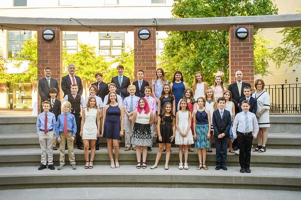 2018 Graduation & Recognition Ceremony - Grades 5, 6, 7 - Manhattan Middle School & Westchester Middle School