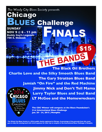 The 2014 WCBS Chicago Blues Challenge Band Finals
