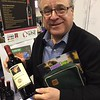 Here I am having fun at the World Wide Wine of New England display table, featuring a nice selection of international wines.