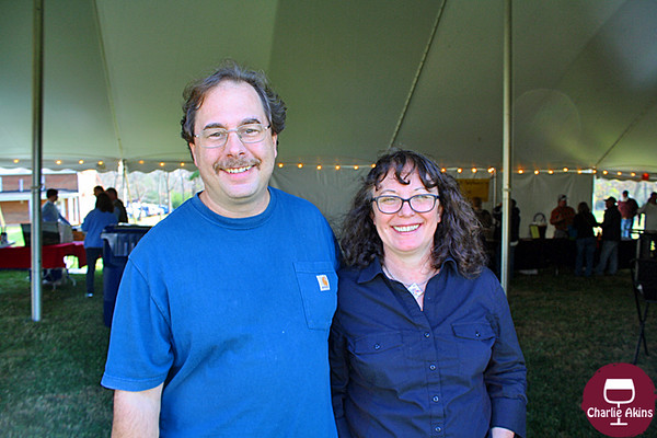 I met this nice couple at the festival.