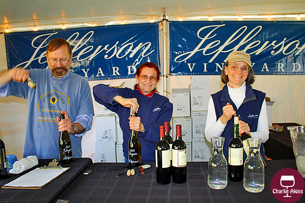 This group also served wine.