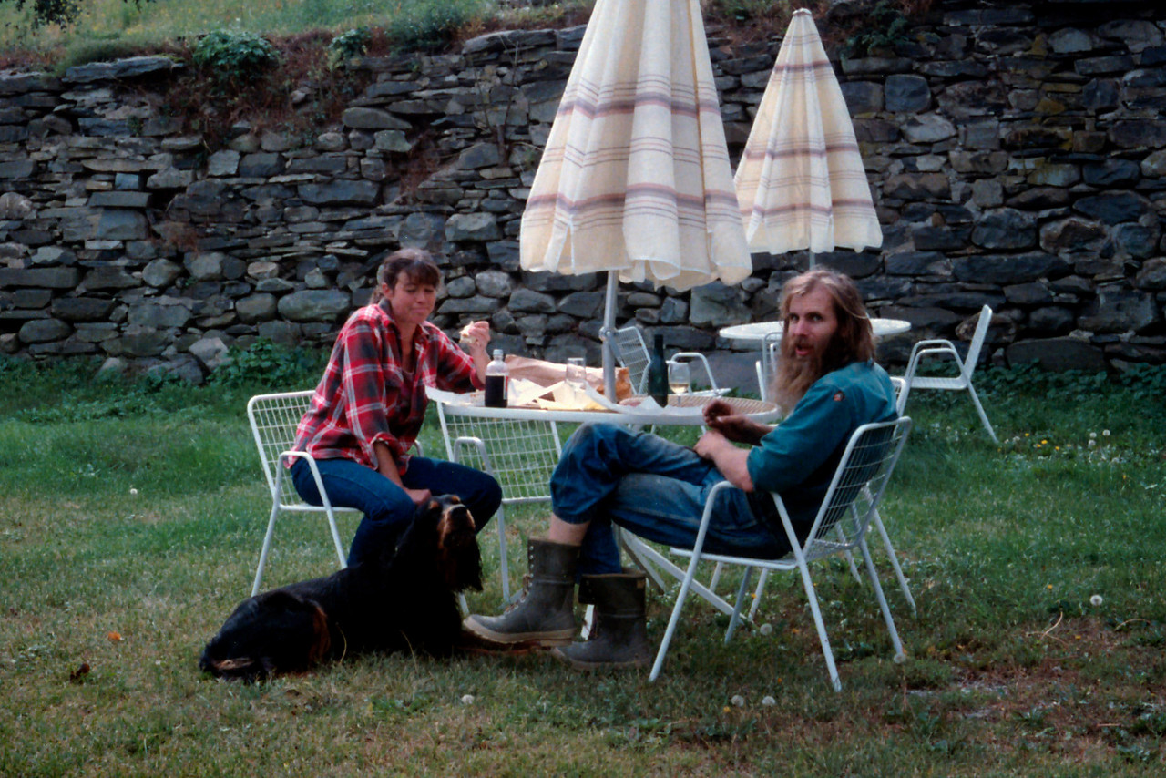 Break time at West Park Winery, c.1987