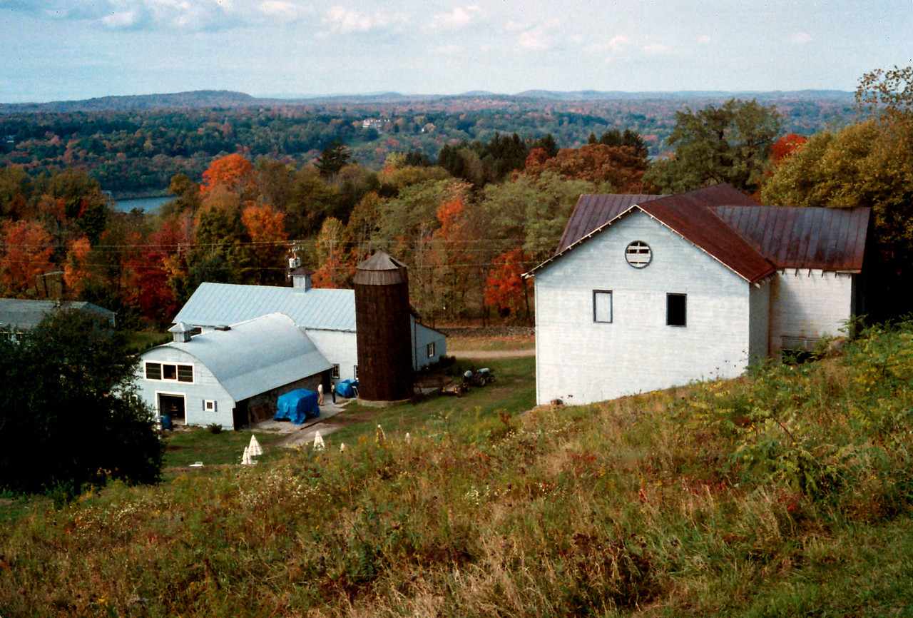 West Park Winery, Hudson Valley, New York state, c.1987.<br /> <br /> While Rita was attending the Culinary Institute of America, in Hyde Park NY, I worked several jobs, including assistant to the winemaker at this boutique winery.