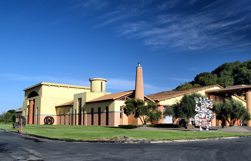Clos Pegas Winery, Calistoga Calif. Napa Valley