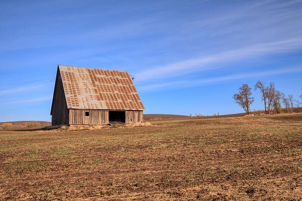 Barn Landscape- Walla Walla, WA