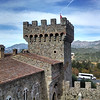 View from Castello di Amorosa in Calistoga