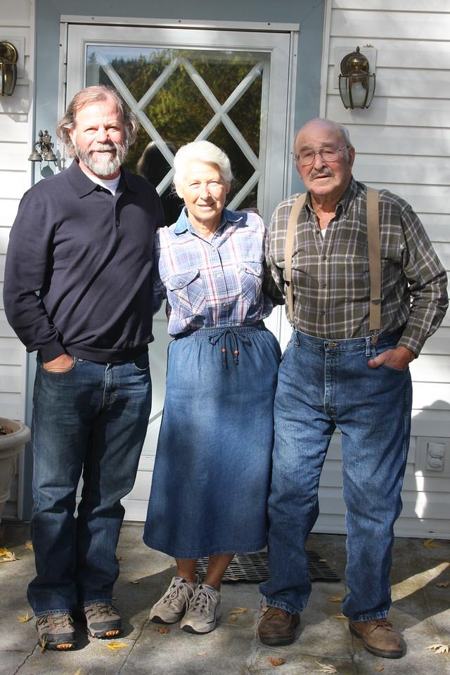 Duncan, Tinka and Bill.  Fiddletown, CA