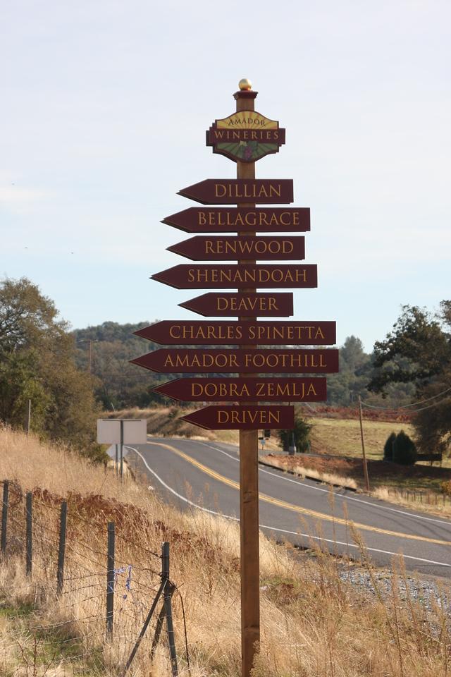 A little drive down memory lane.  Amador County...