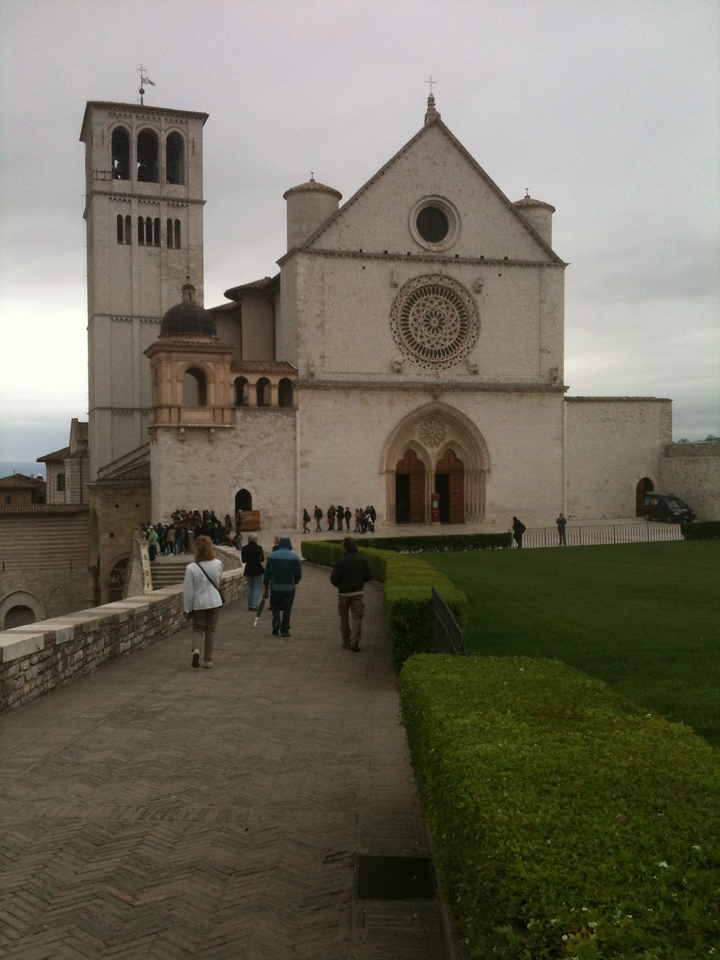 St. Francis of Assisi Church in Assisi.