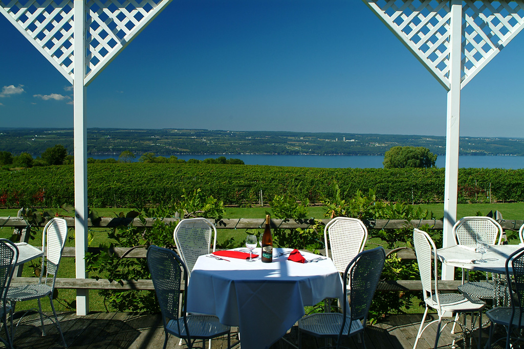 Seneca Lake, vineyards, Wagner Vineyards, Ginny Lee Cafe