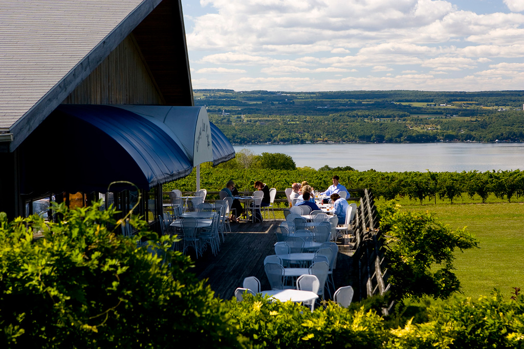 North America, USA, New York State, Finger Lakes Region, Seneca Lake, Seneca Lake Winery Association, Wagner Vineyards