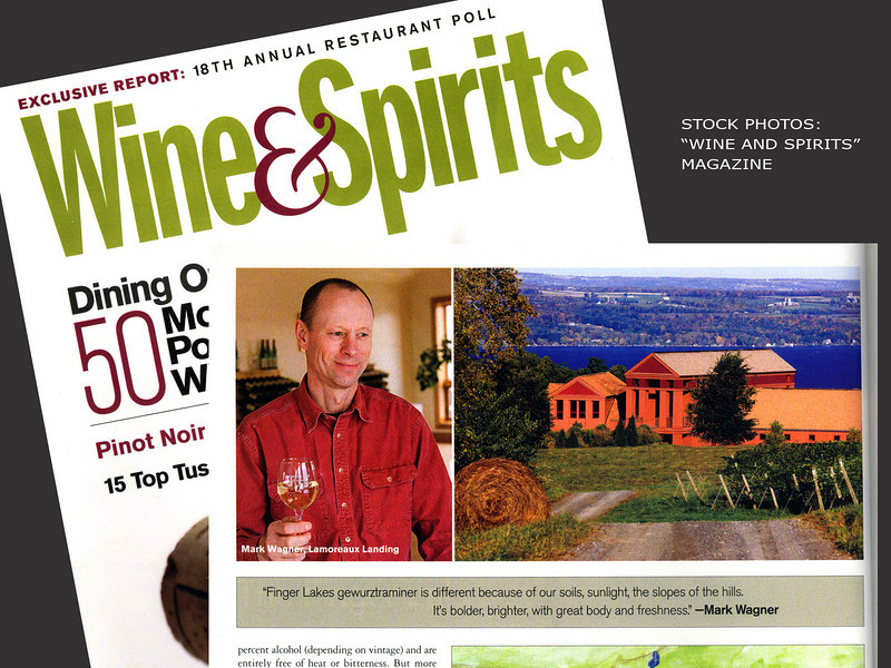 Wine and Spirits Magazine, Lamoureaux Landing Wine Cellars, Mark Wagner