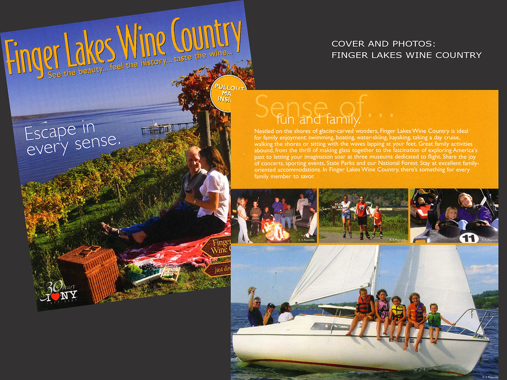 Finger Lakes Wine Country, Cayuga Lake, Goose Watch Winery, Seneca Lake