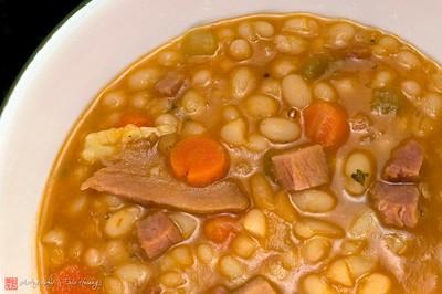 Tuscan white bean stew