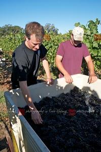 Alan removing debris