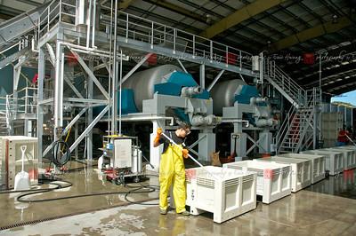 Huge bladder presses can handle several tons at once
