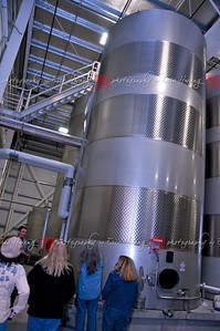 …to huge, 4-story high jacketed tank