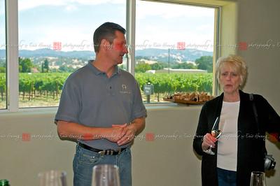 Mark talks with Barbara Drady