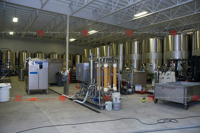 Where smaller lots of wine are produced