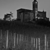 Bricco Chiesa, Cru Nebbiolo in La Morra area, about one hour after the sun had set.