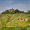 With La Morra to the west, and Serralunga d'Alba to the east, the tiny, medieval village of Castiglione Falletto is strategically positioned among many Cru Barolo vineyards. Wines labeled Villero are perhaps the most familiar.