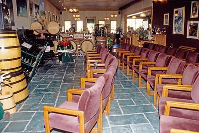 Niagara Frontier winery tasting room.