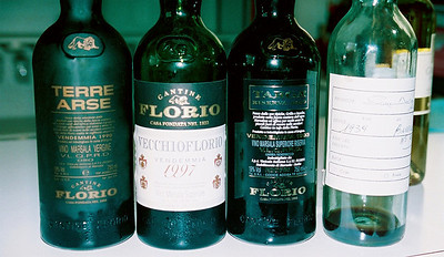 Florio wine tasting.  Trying a wine as old as I am!  1939
