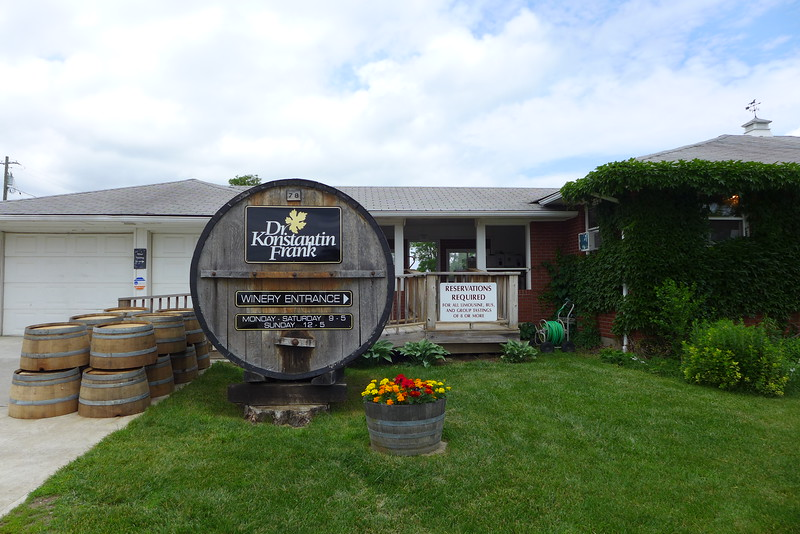 Dr. Konstanin Frank winery - Keuka Lake