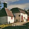 Buildings of the Edradour Scotch Distillery in Scotland.